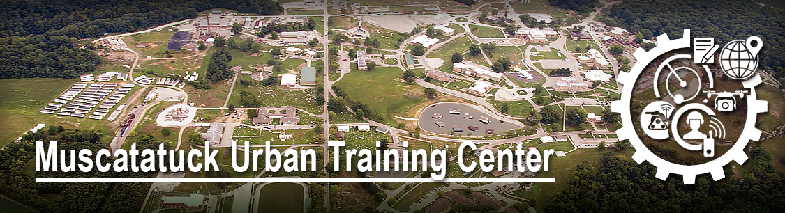 Header Image- aerial view of Muscatatuck Urban Training Center