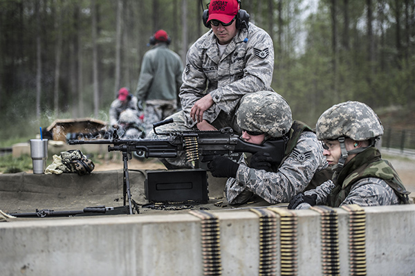 soldiers at the range