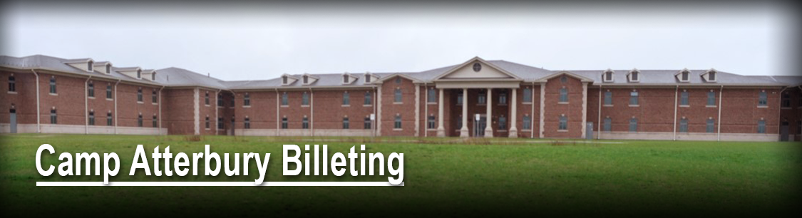Camp Atterbury's Mitch Daniels Barracks Complex