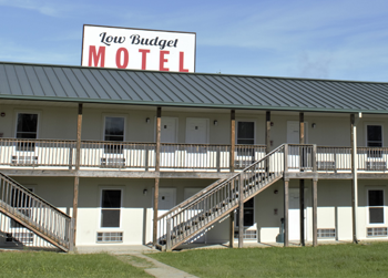 Low-Budget Motel at Muscatatuck, Indiana